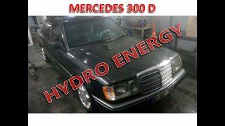Mercedes 300 dizel hidrojen yakıt sistem montajı
