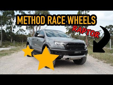 RANGER RAPTOR GETS NEW METHOD RACE WHEELS ! They look so good !