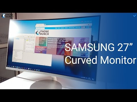 Samsung 27-inch (CF591) Curved Monitor with AMD FreeSync - Review
