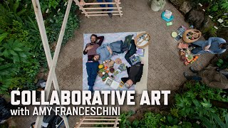 Collaborative Art With Amy Franceschini | KQED Arts