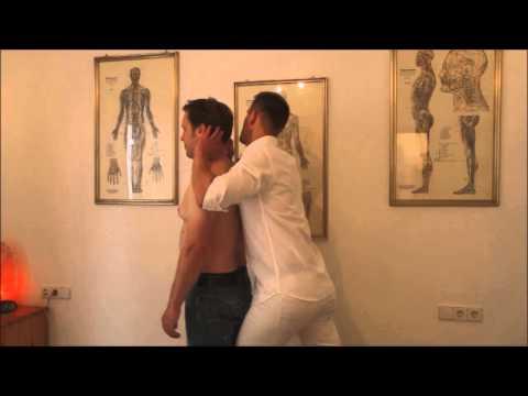 Schmerzen im Nacken zu heilen