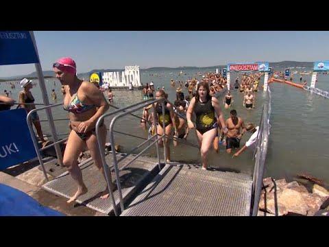 Lake Balaton Cross – Εννέα χιλιάδες κολυμβήτες συμμετείχαν στον αγώνα…