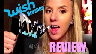 WISH 32 Piece Make Up Brush Set | Vander Brushes | REVIEW