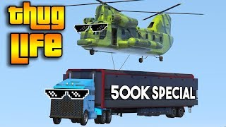 GTA 5 ONLINE : TOP 100 THUG LIFE AND FUNNY MOMENTS [500K SPECIAL]
