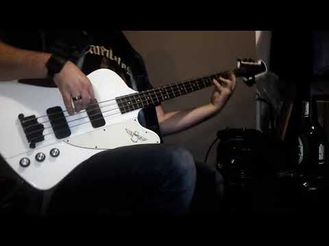 Manowar 'All Men Play On Ten' bass cover