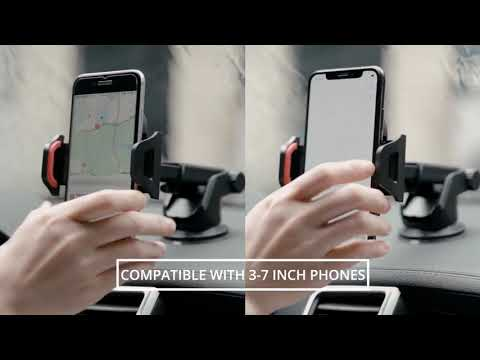 Sucker Car Phone Holder For iPhone 12 11 XR Holder For Phone In Car Support Smartphone