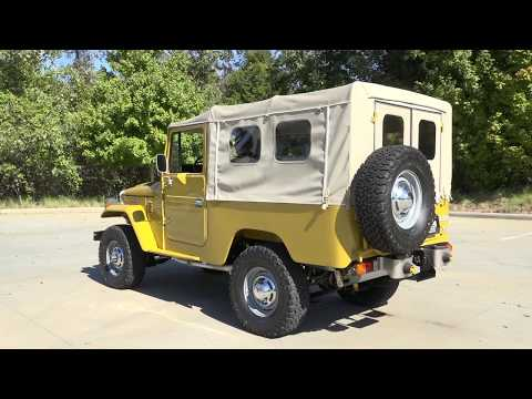 Video of '82 Land Cruiser FJ43 - JML9