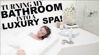 HOW TO RECREATE A LUXURY SPA AT HOME!