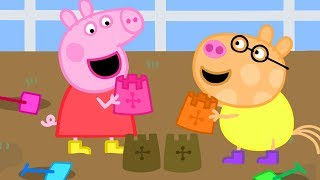 Peppa Pig Official Channel ⭐️ NEW ⭐️Peppa Pig Makes a Mud Castle 🏰