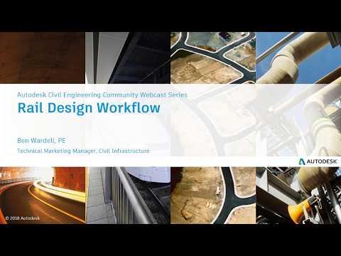 Rail Design in Civil 3D 2019.1 Webcast