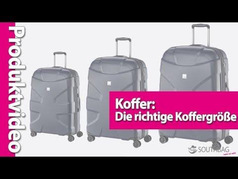 Koffer: Die richtige Koffergröße