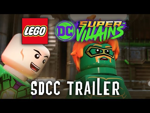 Lego DC Super Vaillains SDCC Trailer