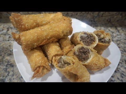 Philly CheeseSteak Egg Rolls | How To Make Egg Rolls | Southern Smoke Boss