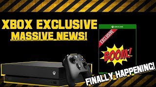 """Microsoft FINALLY Shares Xbox One """"Exclusive Game"""" News That Millions Wanted!"""