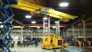 7.5 Ton Double Girder Overhead Crane Installation
