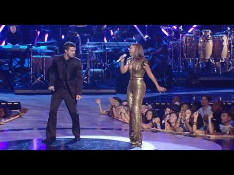 Beyonce & Justin Timberlake - Ain't Nothing Like The Real Thing (live @ Fashion Rocks) Hd (+ lyrics)