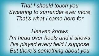 Garth Brooks - Lost In You Lyrics