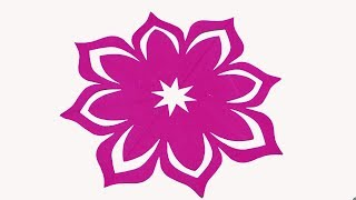Paper cutting design how to make easy paper cutting flowers diy paper cutting flowershow to make simple easy paper cutting flower designs mightylinksfo