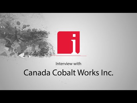 Frank Basa on Canada Cobalt Works' high grade numbers for cobalt, silver and nickel