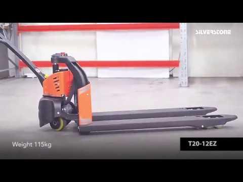 Elektrisk palleløfter 1200kg - Lithium