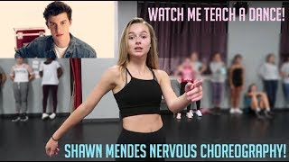 "Shawn Mendes ""Nervous"" Choreography By Me!"