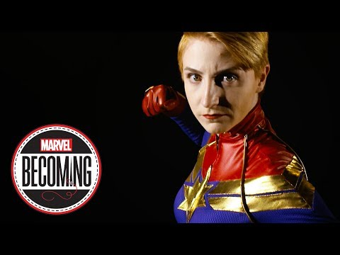 Cosplayer Marcy Schwerin Becomes Captain Marvel