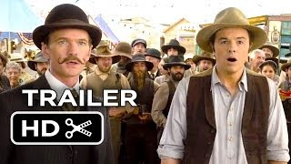 A Million Ways To Die In The West Official Trailer 1 2014  Seth MacFarlane Movie HD