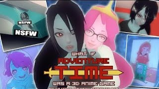 What if Adventure time was a 3D anime (uncensored)