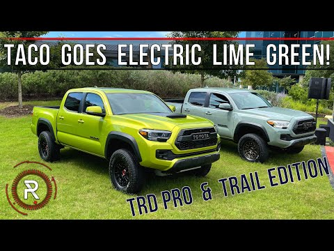 2022 Toyota Tacoma TRD Pro & Trail: *Hands On* At Toyota's Headquarters – Redline: First Look