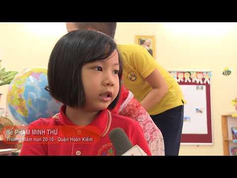 Trường Mầm non CLC 20-10 nơi trẻ em được sáng tạo và hội nhập quốc tế