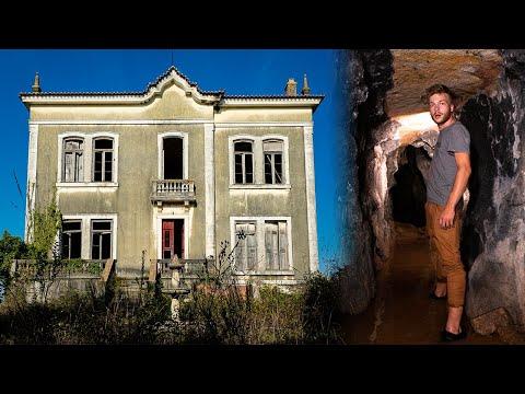 Verlaten Portugees paleis van graaf José - Geheime ondergrondse tunnels!