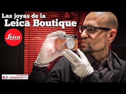 Las cámaras más exclusivas del mundo: visitamos la Leica Boutique de Barcelona