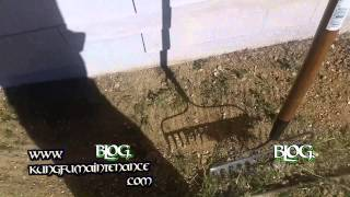 Quick Little Trick Removing Rocks Stones Weeds From Flower Beds Gardening Video