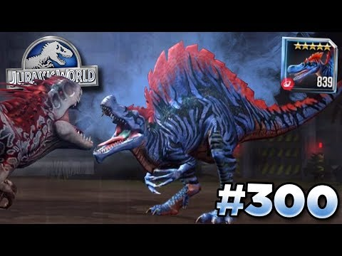 This Spinosaurs Can Take On Indominus! || Jurassic World - The Game - Ep300 HD