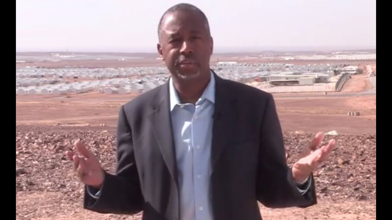 Ben Carson Visited Syrian Refugees, So Now He's An Expert... thumbnail