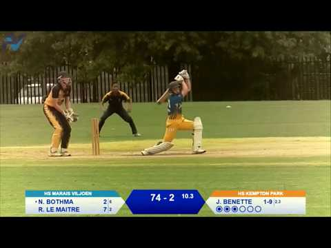 (T20 Highlighs) HS Kempton Park vs HS Marais Viljoen