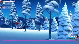 Frozen Rush Disney Games / Elsa, Anna, Olaf, Kristoff / Flash Online Gameplay Video