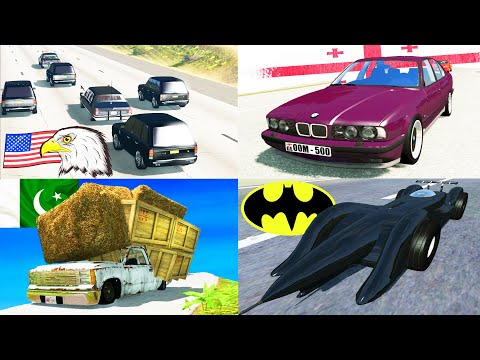 Types of Drivers in BeamNG DRIVE #3