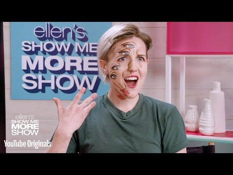 Hannah Hart Gets A Wild-Eyed Makeover