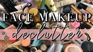 FACE MAKEUP DECLUTTER // Why I Won't Accept PR Anymore...