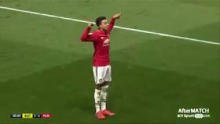 JESSE LINGARD'S STUNNING SOLO GOAL AGAINST WATFORD