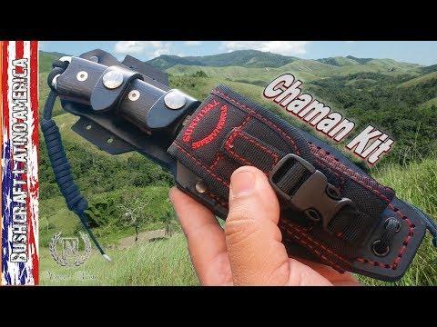 Survival Knife Chaman kit – (English Version)