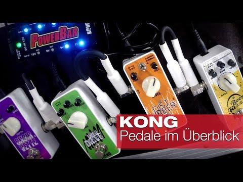 KONG Gitarrenpedale