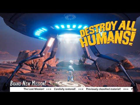 Destroy All Humans! - Lost Mission Teaser de Destroy All Humans!