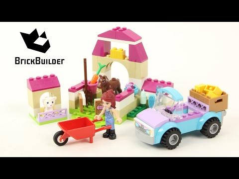 """Vidéo LEGO Juniors 10746 : La valisette """"Mia à la ferme"""""""