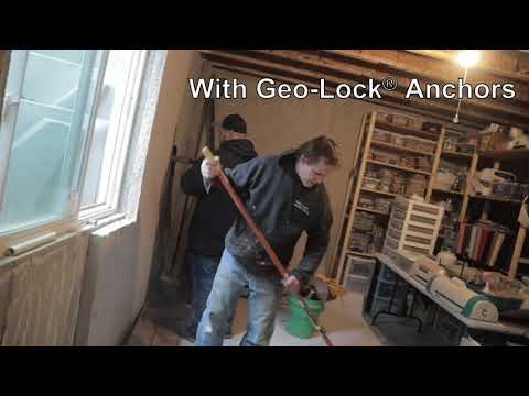 Stabilize Walls with GeoLock Wall Anchors