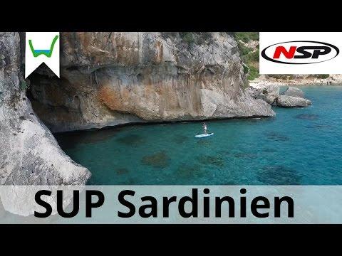 SUP Paradies Sardinien - Paddeltour durch die Bue Marino