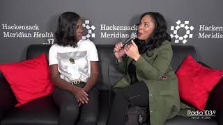 Asante McGee talks with La Loca from the HMH Stage 17 Artist Lounge!