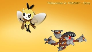 Ribombee  - (Pokémon) - Ribombee 6-0 Sweep || Pokemon Sun & Moon Showdown OU