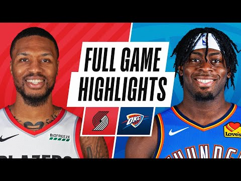 TRAIL BLAZERS at THUNDER | FULL GAME HIGHLIGHTS | February 16, 2021